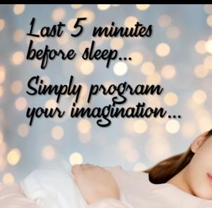 Last 5 minutes before sleep